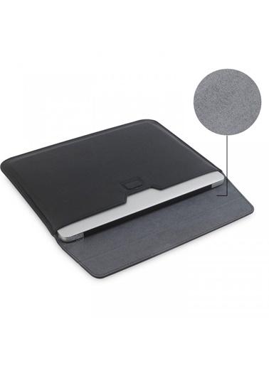 Mcstorey Apple MacBook Air Retina 13.3'' Deri Çanta Kılıf Siyah